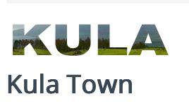 Kula Town, Hawaii